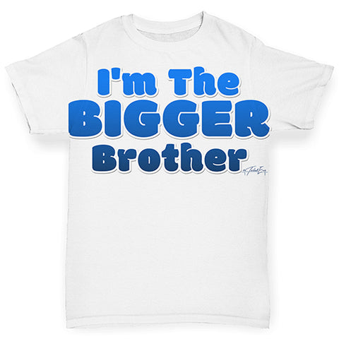 I'm The Bigger sister Baby Toddler ALL-OVER PRINT Baby T-shirt