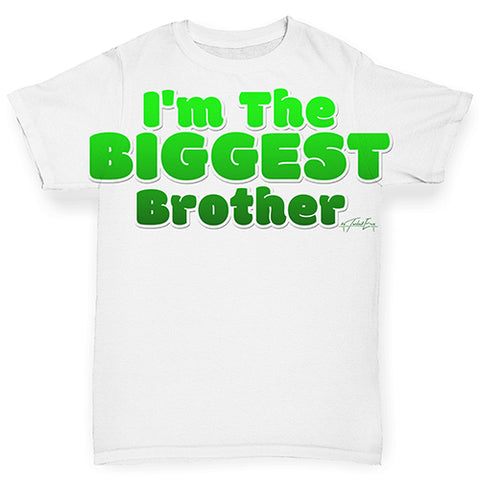 I'm The Biggest Brother Baby Toddler ALL-OVER PRINT Baby T-shirt