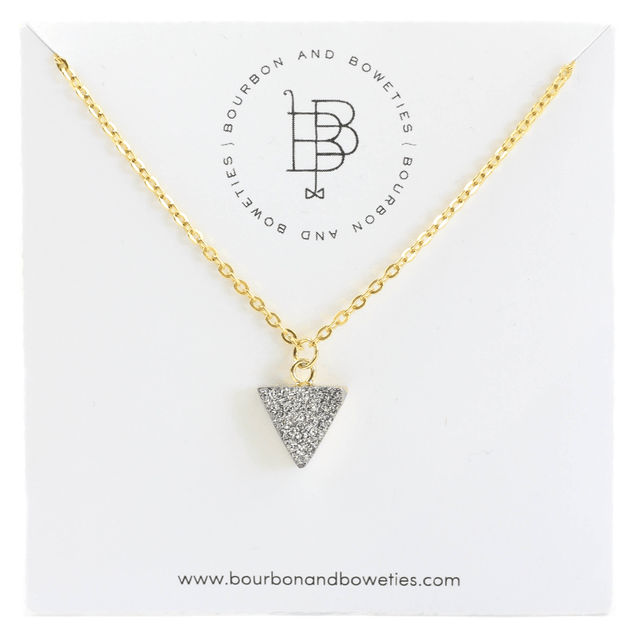 Dainty Silver And Gold Necklace | Arlo And Arrows
