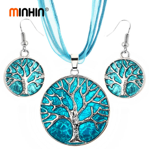 Personality Tree Design  Necklace Set
