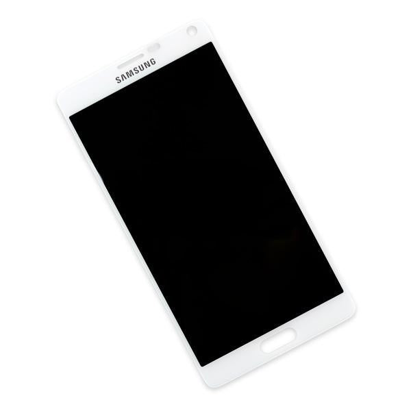 Samsung Galaxy Note 4 Display Assembly - White