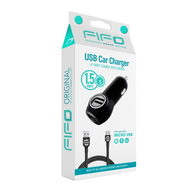 CARGADOR CARRO + CABLE MICRO USB