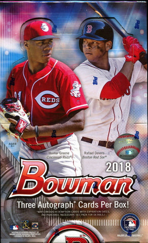 2018 Bowman Baseball Hobby Box