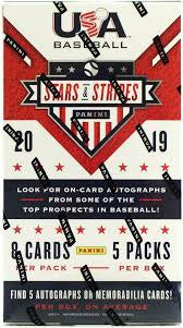 2019 Panini USA Stars and Stripes Baseball Box