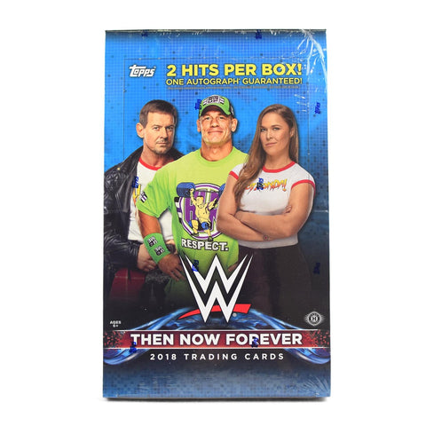 2018 Topps Then Now Forever WWE Box