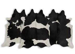 Black & White Cowhide Rugs