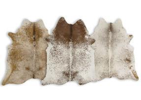 Speckled Brown Cowhide Rugs