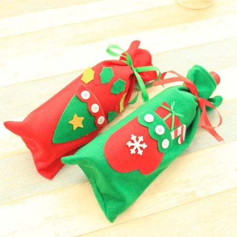 Home & Garden - Holiday Wine Bottle Cover Bag