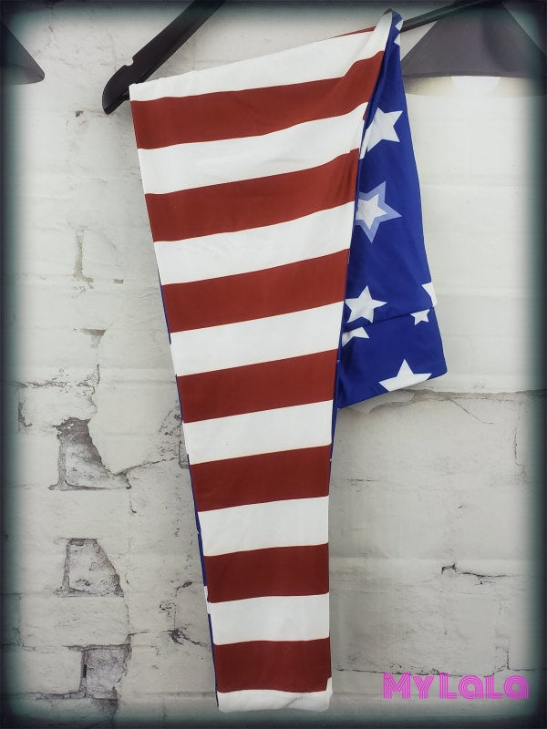 1 Yoga Band - American Flag Os (Premium)