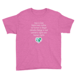 """Love is Love"" Youth/Kids Unisex T-Shirt"