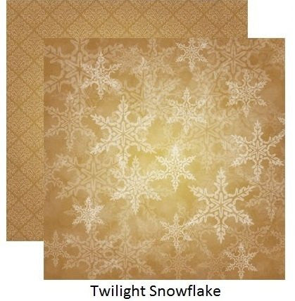 A Christmas Story - Twilight Snowflake - 5 Sheets - by Reminisce