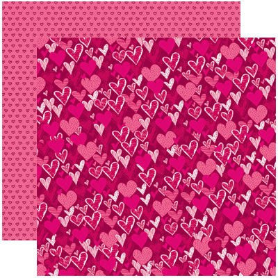 Love You More Valentines Anything For Love Papers - 5 Sheets - by Reminisce