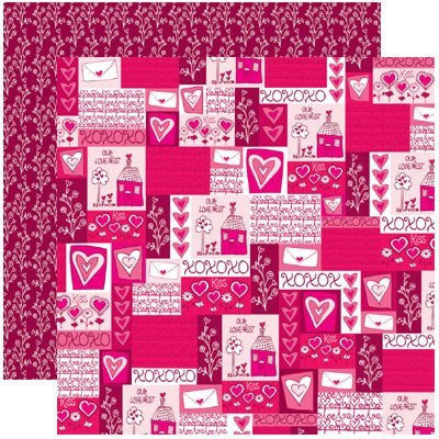 Sending You My Love Valentines Anything For Love Papers - 5 Sheets - by Reminisce