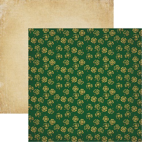 St Patricks Day Lucky Charms Scrapbook Paper by Reminisce