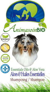 Shampoing Aloes & Huiles essentielles / Aloe Vera & Essentials Oils Shampoo -P