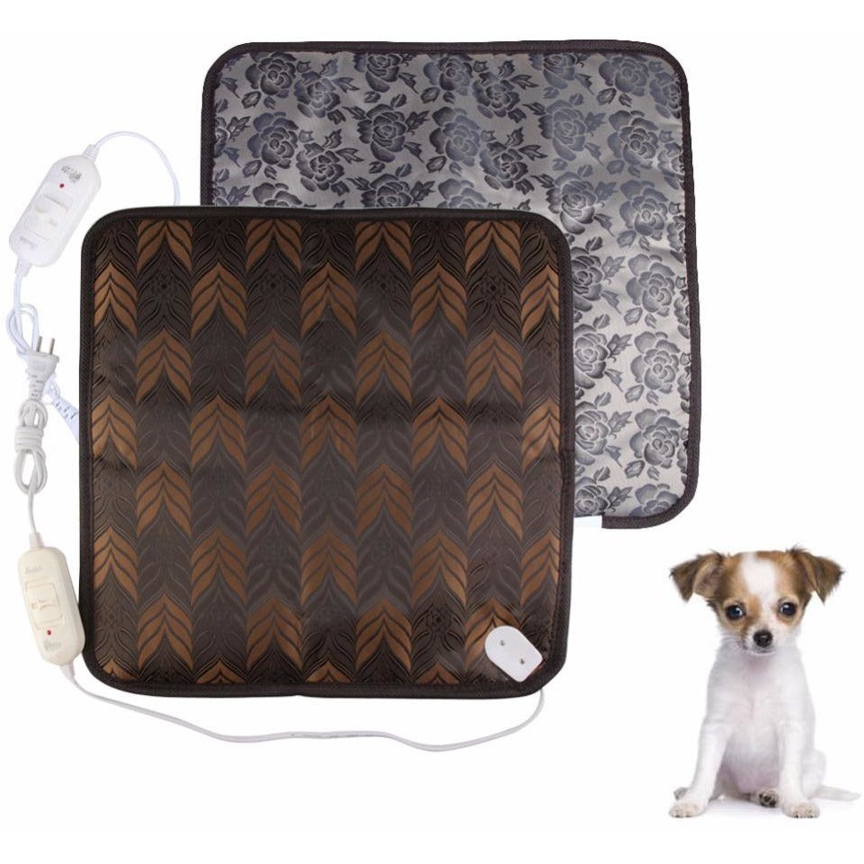 Oxford Fabric Pet Dog Mats Waterproof Electric Heating Pad Warmer Blanket - AMAZOFFER