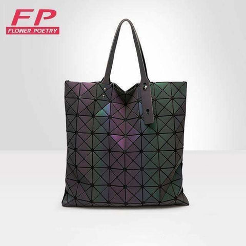 Bags Women Geometry Folding Bag Luminous Han
