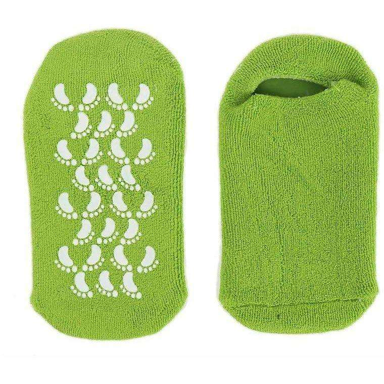 Spa Moisturizing Gel Socks Exfoliating Dry Cracked Soft Skin Sock Pedicure Foot Care Tool - AMAZOFFER
