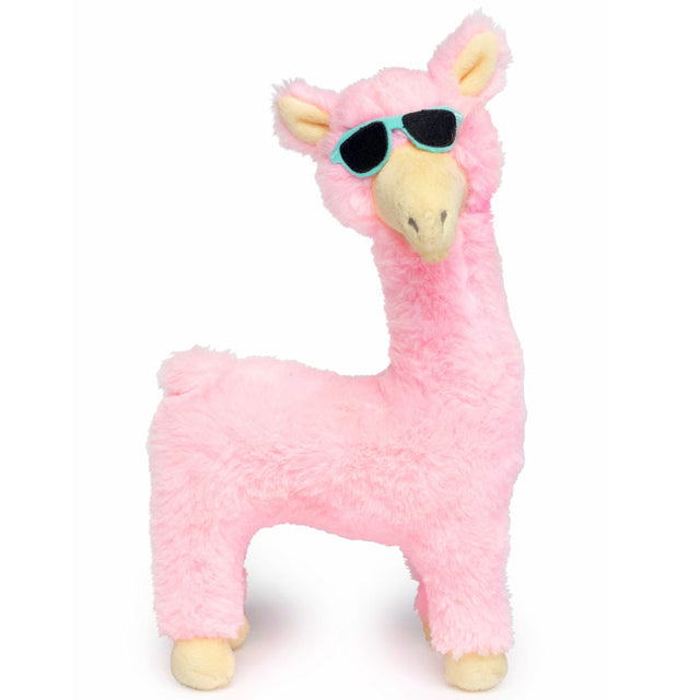 10% OFF [NEW] FuzzYard® Kendra Llama Plush Dog Toy – Pink