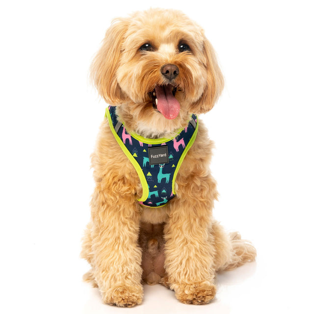 10% OFF [NEW] FuzzYard® No Probllama Step In Dog Harness (6 sizes)