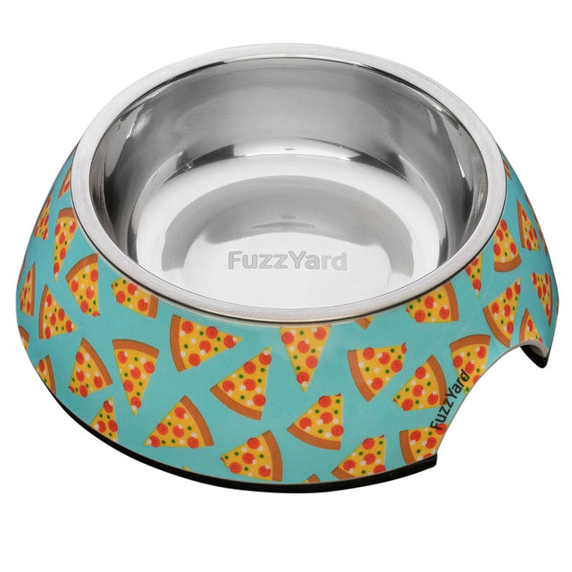 10% OFF [NEW]: FuzzYard® Pizza Lyf Easy Feeder Pet Bowl (3 sizes)