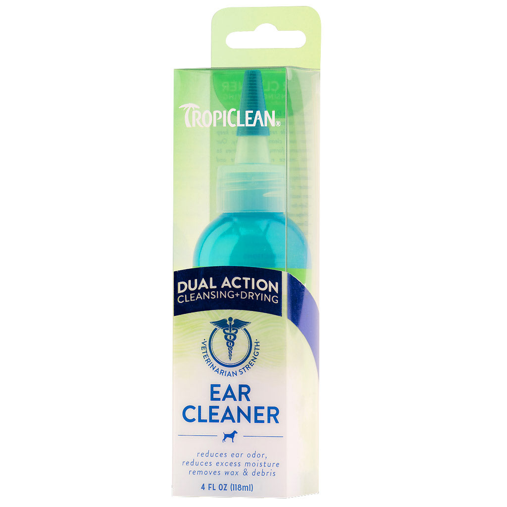 10% OFF: TropiClean® Dual Action Ear Cleaner for Dogs & Cats (118ml)