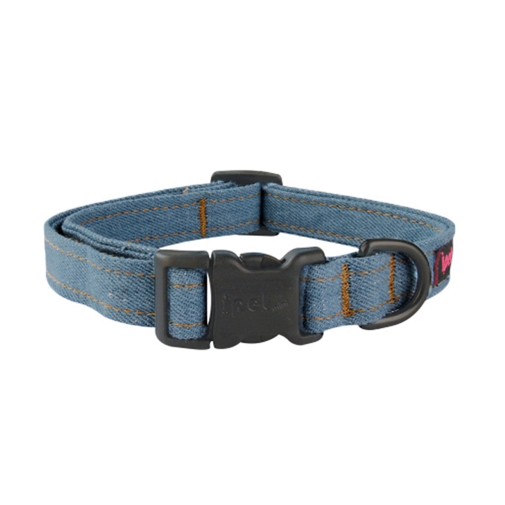 40% OFF: Ipet Mini® Denim Collection Dog & Cat Collar (Light Denim)