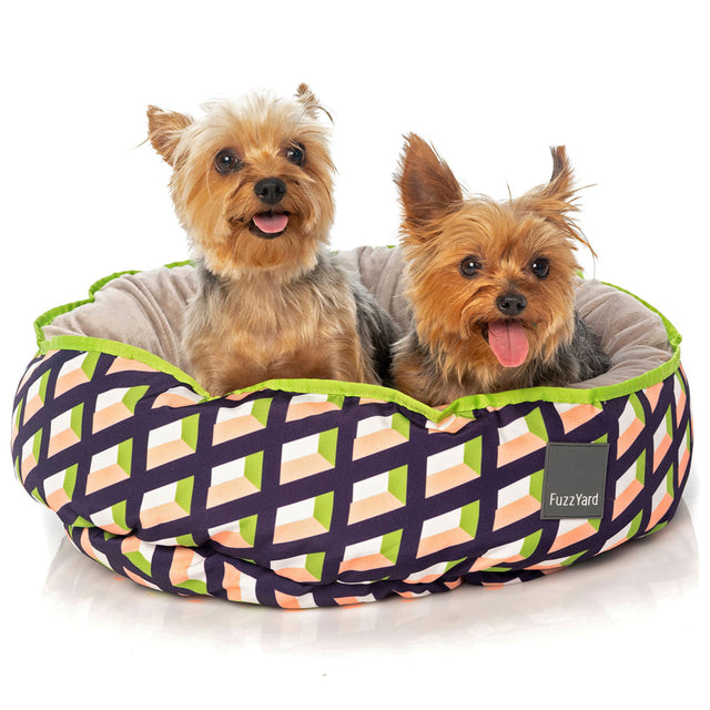 10% OFF [NEW]: FuzzYard® Reversible Dog Bed - Louisiana (3 sizes)