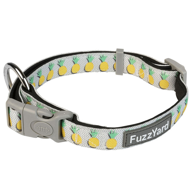 10% OFF [NEW] FuzzYard® Pina Colada Dog Collar (3 sizes)