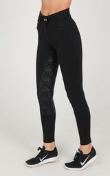 Chillout Black Silicone Full Seat Breeches