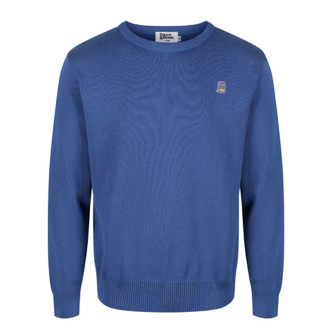 Blueberry Cotton Jumper