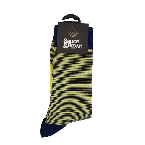 Yellow Stripe Socks