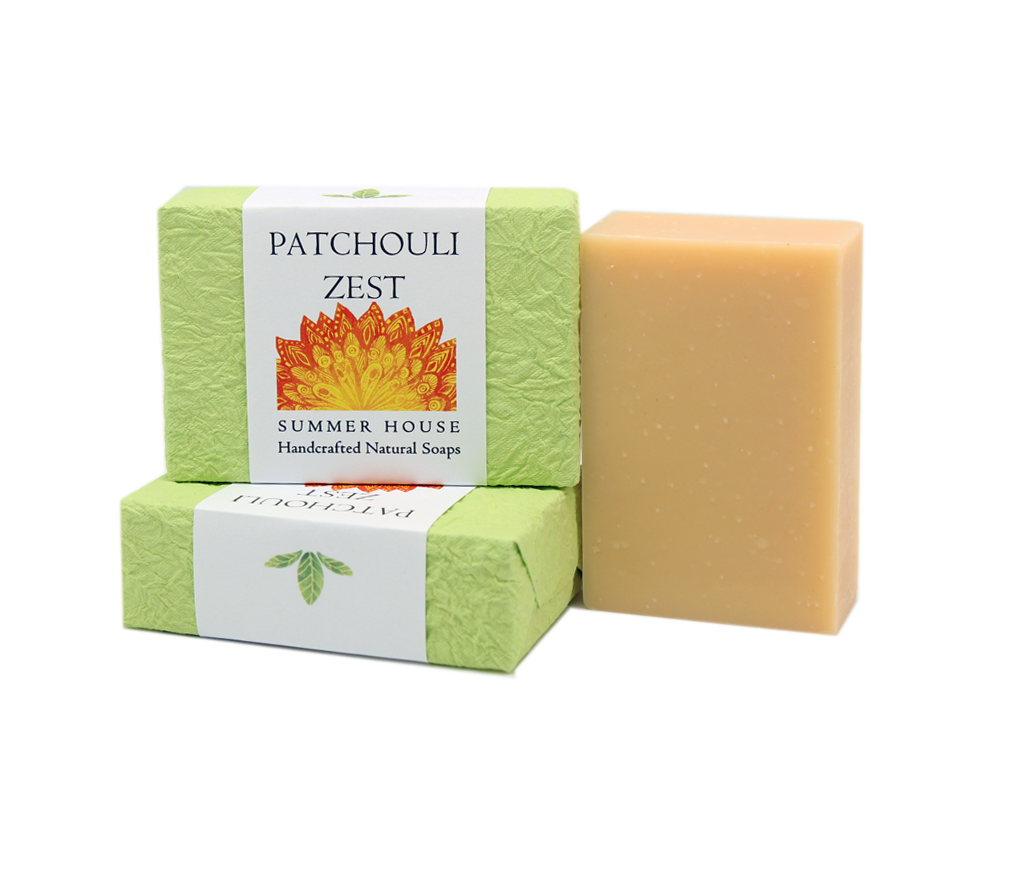 Handcrafted Natural Soaps - Patchouli Zest