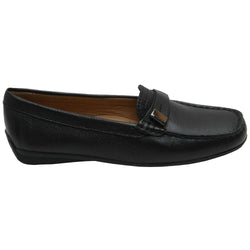 Albany Moccasin Black
