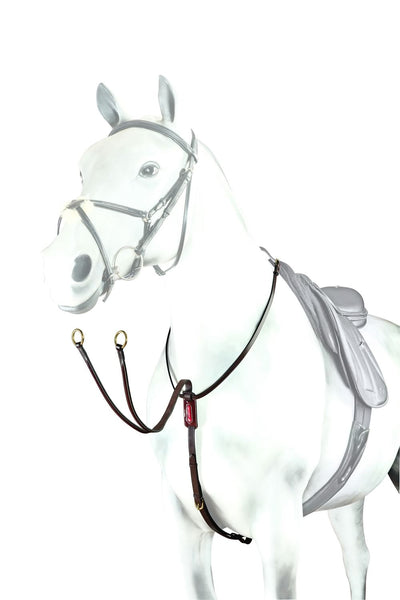 Equipe Patent Leather Running Martingale (BP16)
