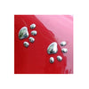 Image of Cute 3D Paw Prints Car Window or Bumper Sticker / Vehicle Decal Decoration - FOURPAWPALS