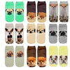 Image of Cute 3D Printed Casual Socks with Gorgeous Dog and Puppy Designs - FOURPAWPALS