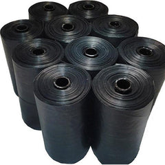 20 Rolls x 20 pieces per Roll (400) - Black Pet Poop Bags for Dog, Puppy, Cat & Kitten Waste Pick Up