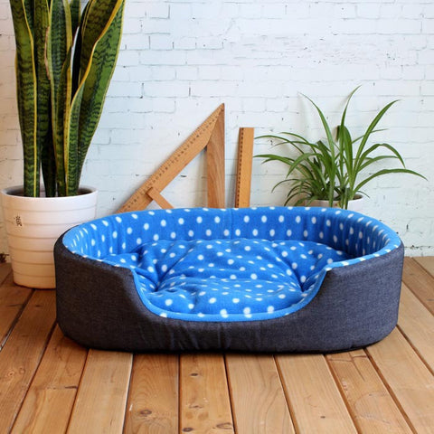 Beautiful & Comfortable Luxury Small to Large Dog & Cat Bed - FOURPAWPALS