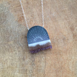 Crystal Rays Necklace