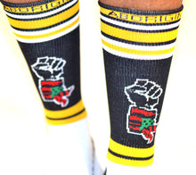 'ABORIGINAL' Logo Fist Socks