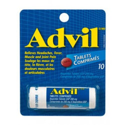 Advil Ibuprofen 10 Tablets