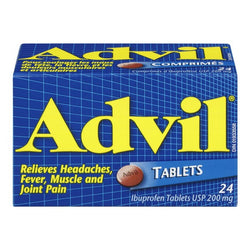 Advil Ibuprofen 24 Tablets 200 MG