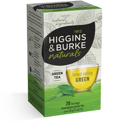 1912 HIGGINGS & BURKE Naturals Forest Valley Green Tea (20 Bags)