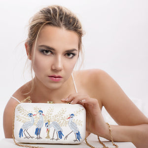Four Herons - Clutch Bag