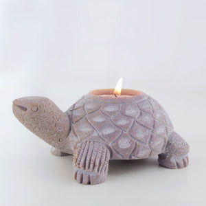 Handmade Soapstone Tealight Holder