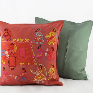 Utsav - Sujani Cushion Cover