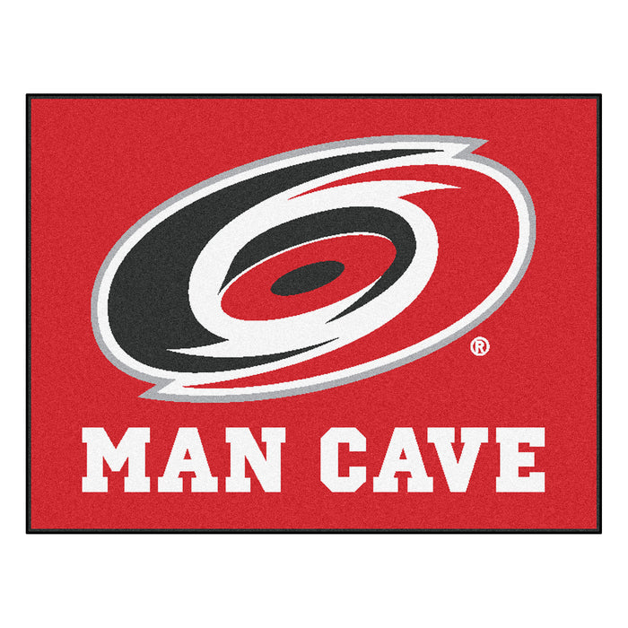 "NHL - Carolina Hurricanes Man Cave All-Star Mat 33.75""x42.5"""
