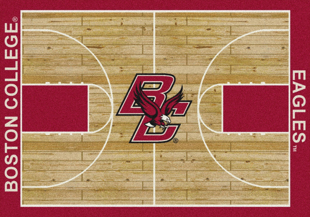 Fan Cave Rugs:Boston College Rug Team Home Court