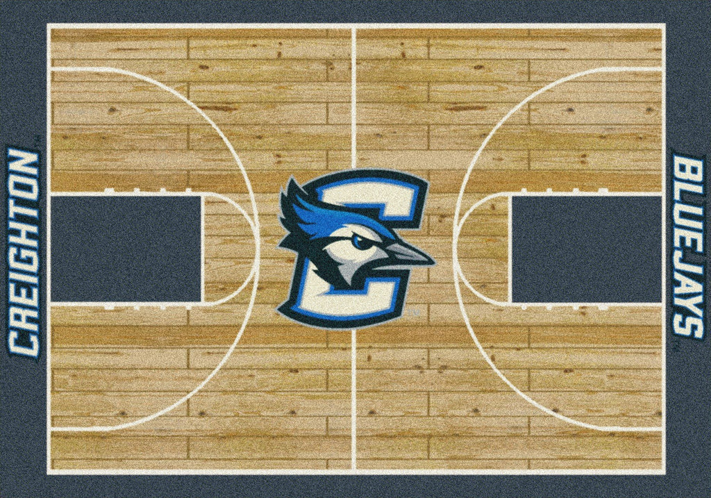 Fan Cave Rugs:Creighton Rug Team Home Court